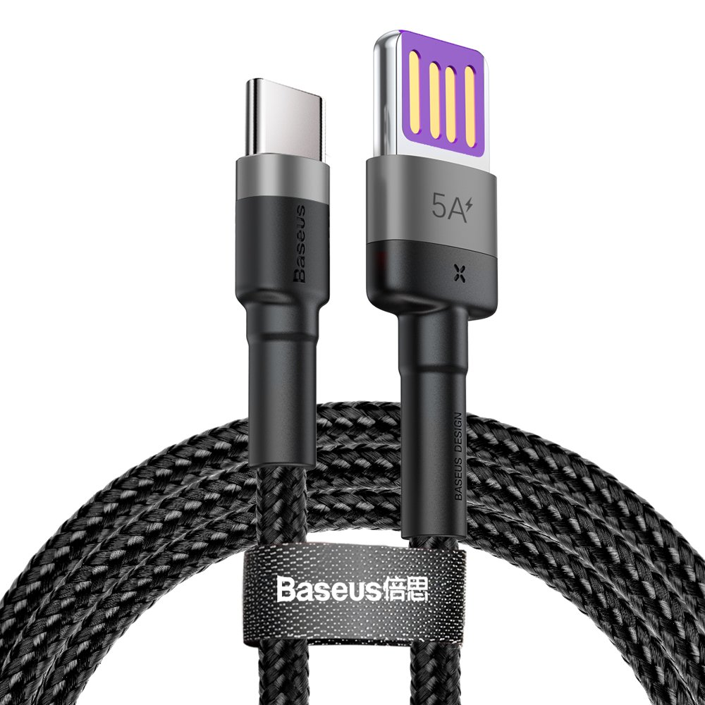Кабель Baseus USB - Type-C Quick Charging Cable CATKLF-PG1 40W, 5A, 1 метр