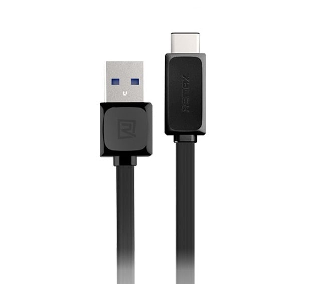 Кабель USB 3.0 Type-C Remax RT-C1 2.4A 1 метр черный