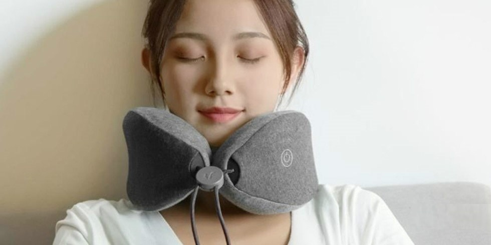 Массажная подушка Xiaomi LeFan Massage Sleep Neck Pillow  (LF-TJ001-FGY)