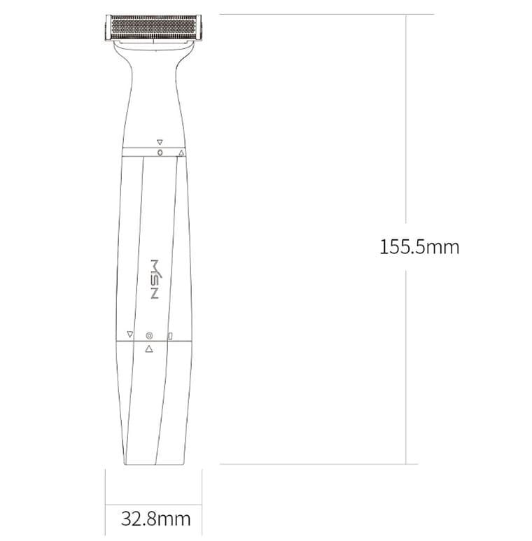 Мультифункциональная электробритва Xiaomi MSN T3 Multifunctional Shaver - фото