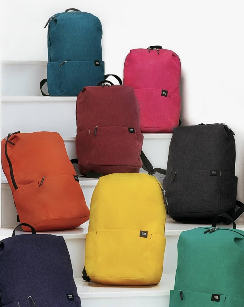 Рюкзак Xiaomi Colorful Mini Backpack bag для ноутбука 10""