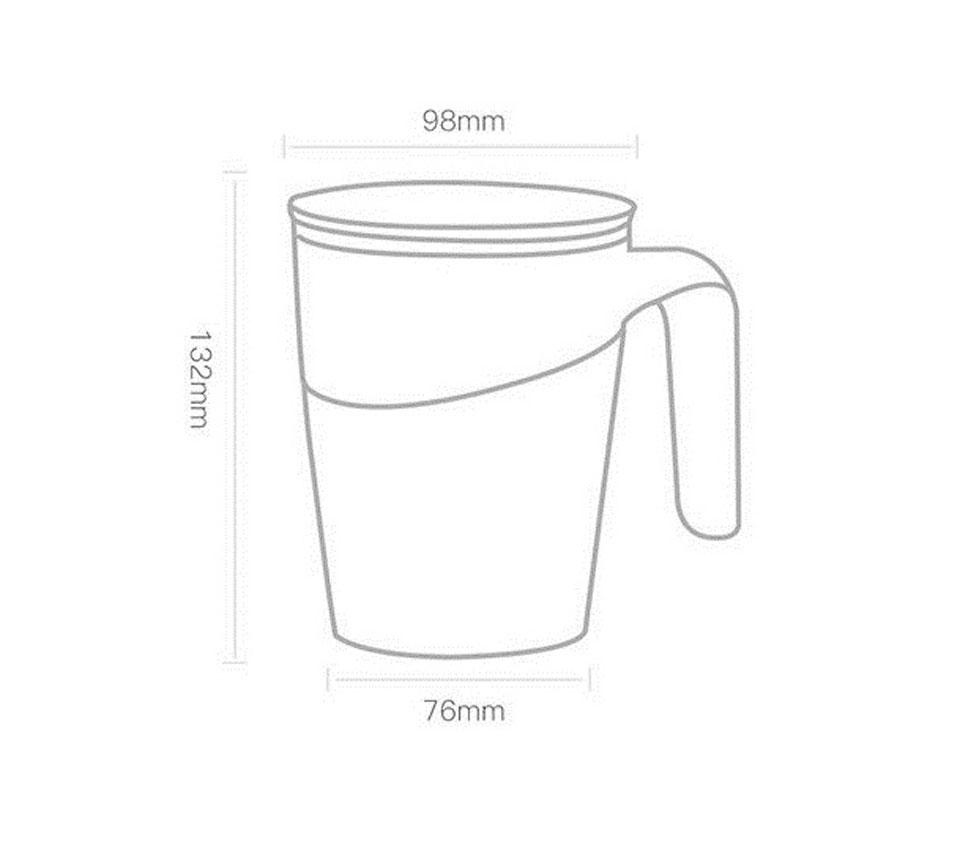 Термокружка с присоской Xiaomi Fiu Elegant Do Not Roll