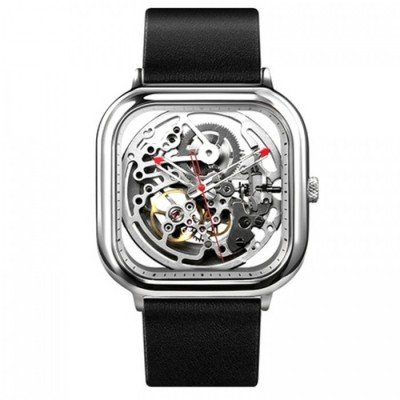 Умные часы Xiaomi CIGA Design Anti-Seismic Mechanical Watch Wristwatch серебристые