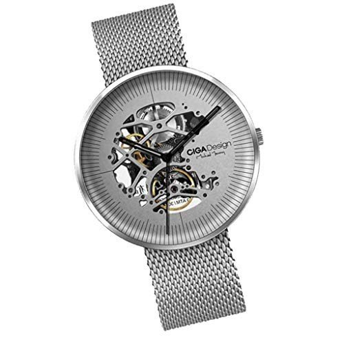Умные часы Xiaomi CIGA Design Mechanical Watch Jia MY Series серебристые