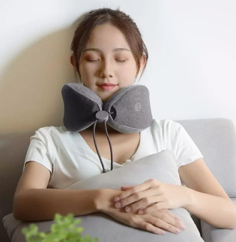 Массажная подушка Xiaomi LeFan Massage Sleep Neck Pillow  (LR-S100)