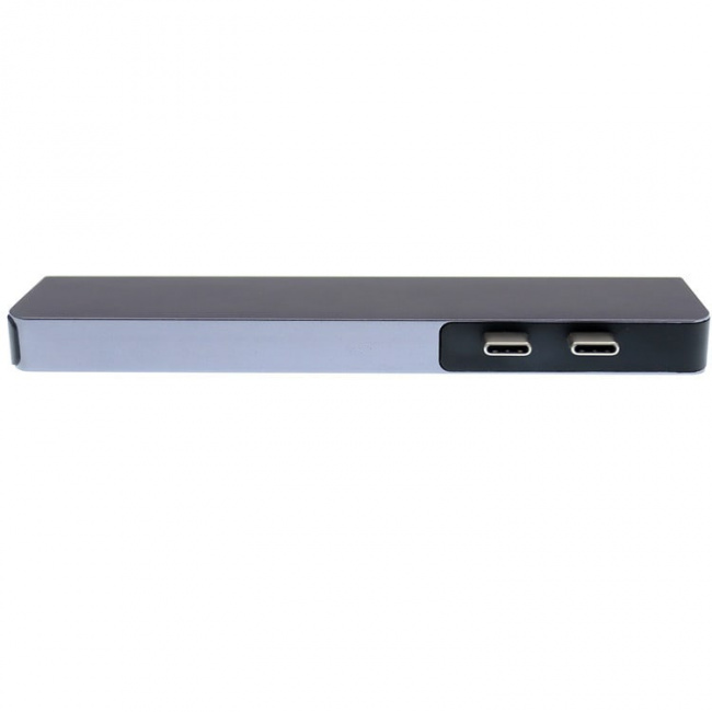 Адаптер 7-в-1 Type-C Card Reader & HUB - Type-Cx2, USB 3.0х2, microSD, SD, HDMI 4K