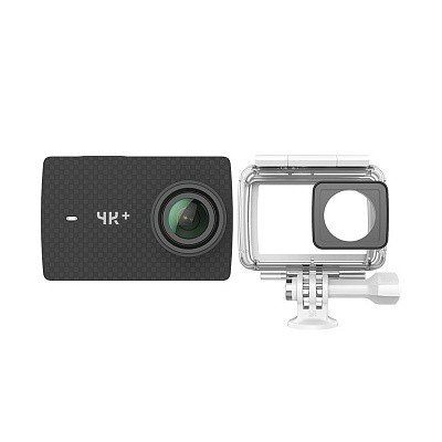 Камера Xiaomi YI 4K+ Action Camera Waterproof Case Kit Dark Black Pearl