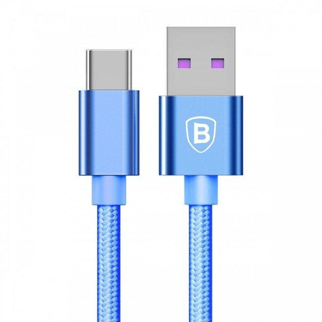 Кабель Baseus Speed Type-C QC Cable Type-C синий