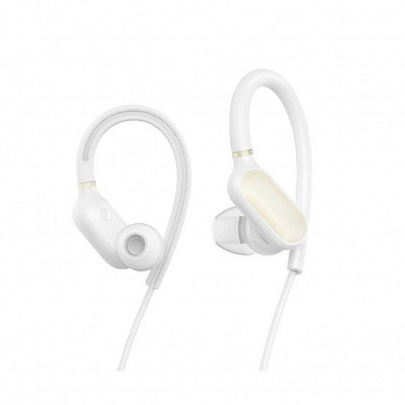 Наушники беспроводные Xiaomi Mi Sport Bluetooth Ear-Hook Headphones Mini ZBW4380CN белые