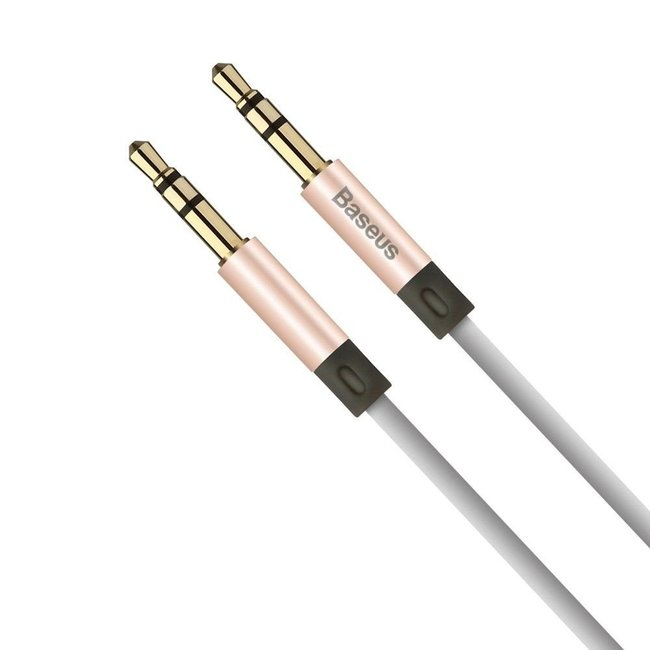 Кабель аудио Baseus Fluency Series AUX Audio Cable 120см розовый