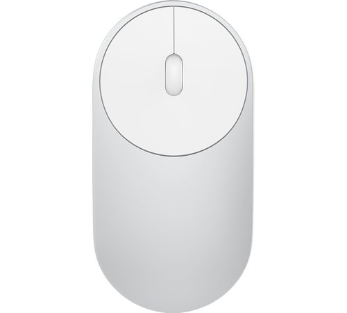 Беспроводная мышь Xiaomi Mi Portable Mouse (2.4ГГц + Bluetooth) XMSB02MW серебристая