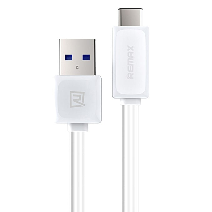 Кабель USB 3.0 Type-C Remax RT-C1 2.4A 1 метр белый