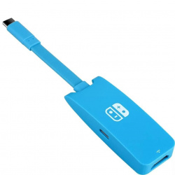 Переходник Type-C для Nintendo Switch Hdmi/USB/Type-C PD 87w