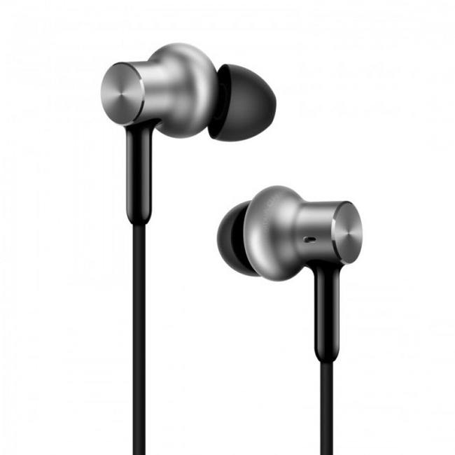 Наушники Xiaomi Mi In-Ear Headphone HD QTEJ02JY серебристые